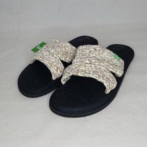 NEW Sanuk Yoga Mat Carpi Knit Slides 1099409